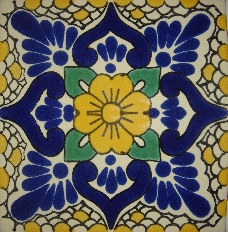 Ceramicos guanajuato azulejo y loza estilo talavera - Azulejos con dibujos ...